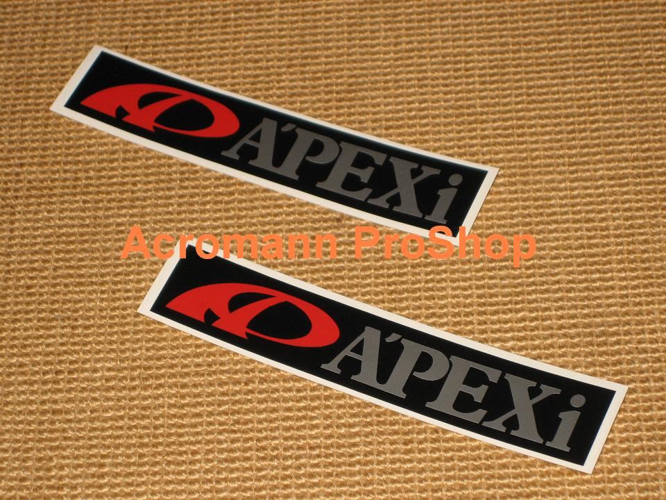 A'PEXi Apexi 6inch Decal (Style#5) x 2 pcs