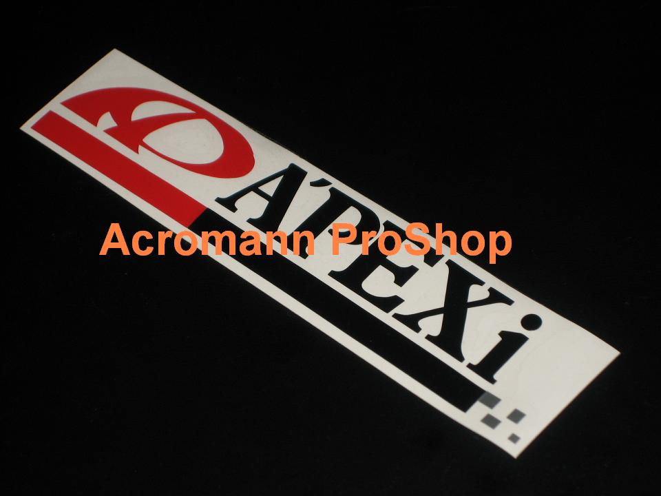 A'PEXi Apexi 6inch Decal (Style#3) x 2 pcs