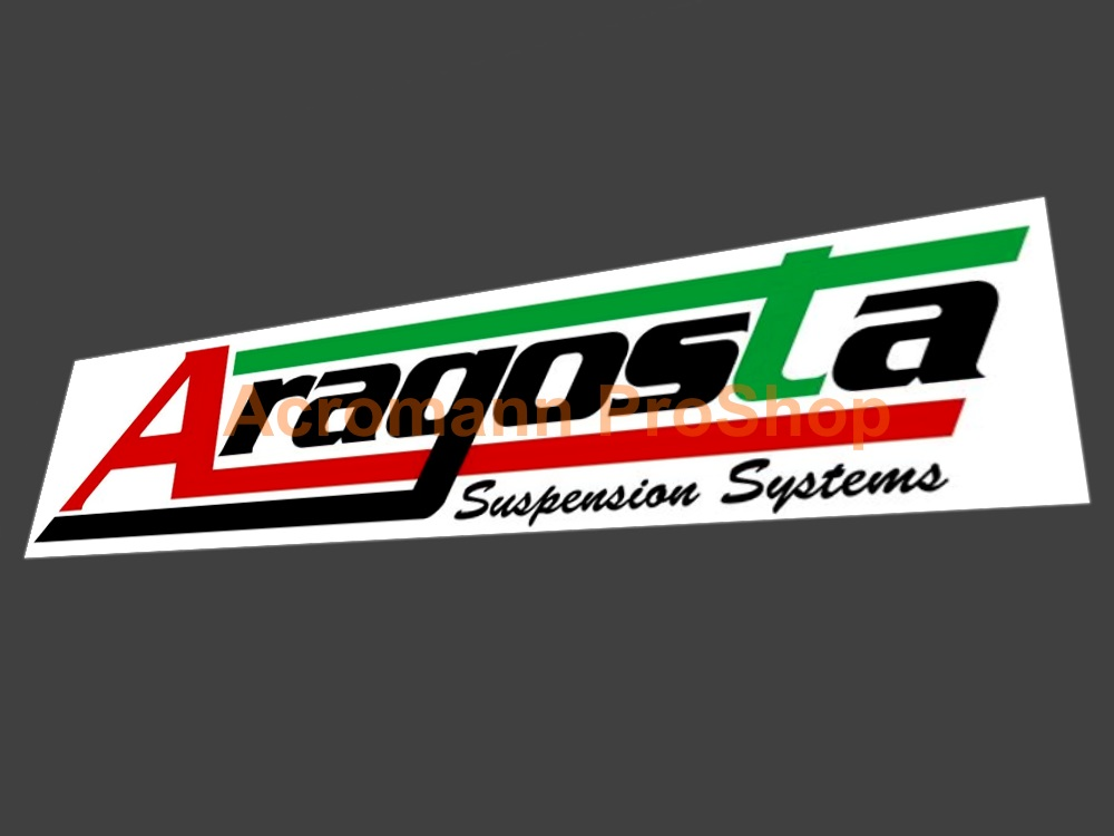 Aragosta Suspension Systems 6inch Decal (Style#2) x 2 pcs