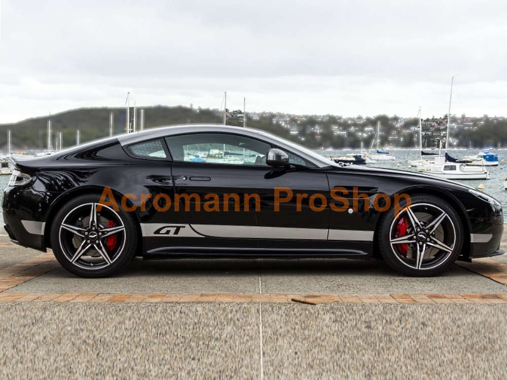 Aston Martin V8 Vantage GT N430 Side Stripes Door Decals Sticker