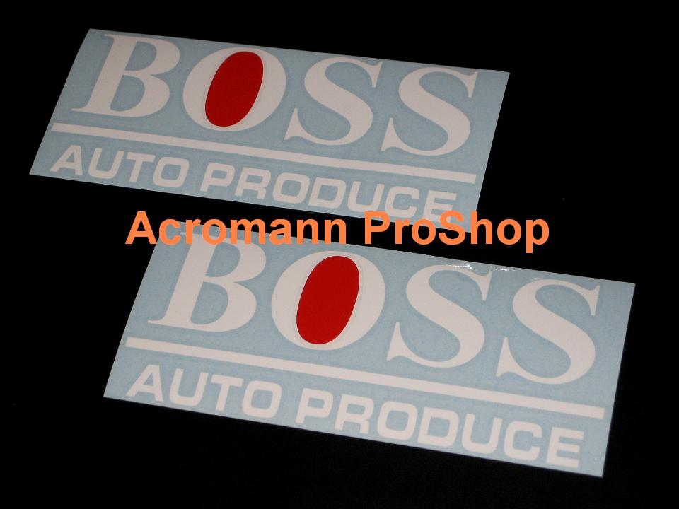 Auto Produce Boss 6inch Decal x 2 pcs