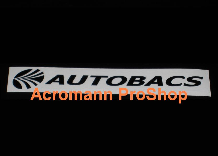AUTOBACS (JGTC) Windshield Decal