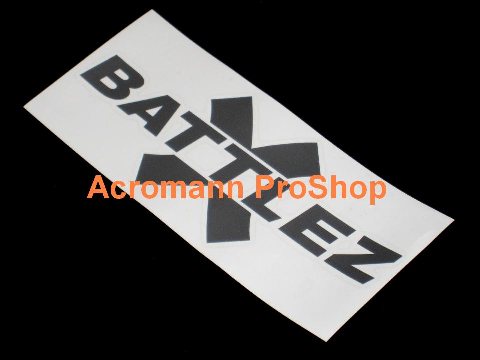 Jaos BATTLEZ 6inch Decal (Style#1) x 2 pcs