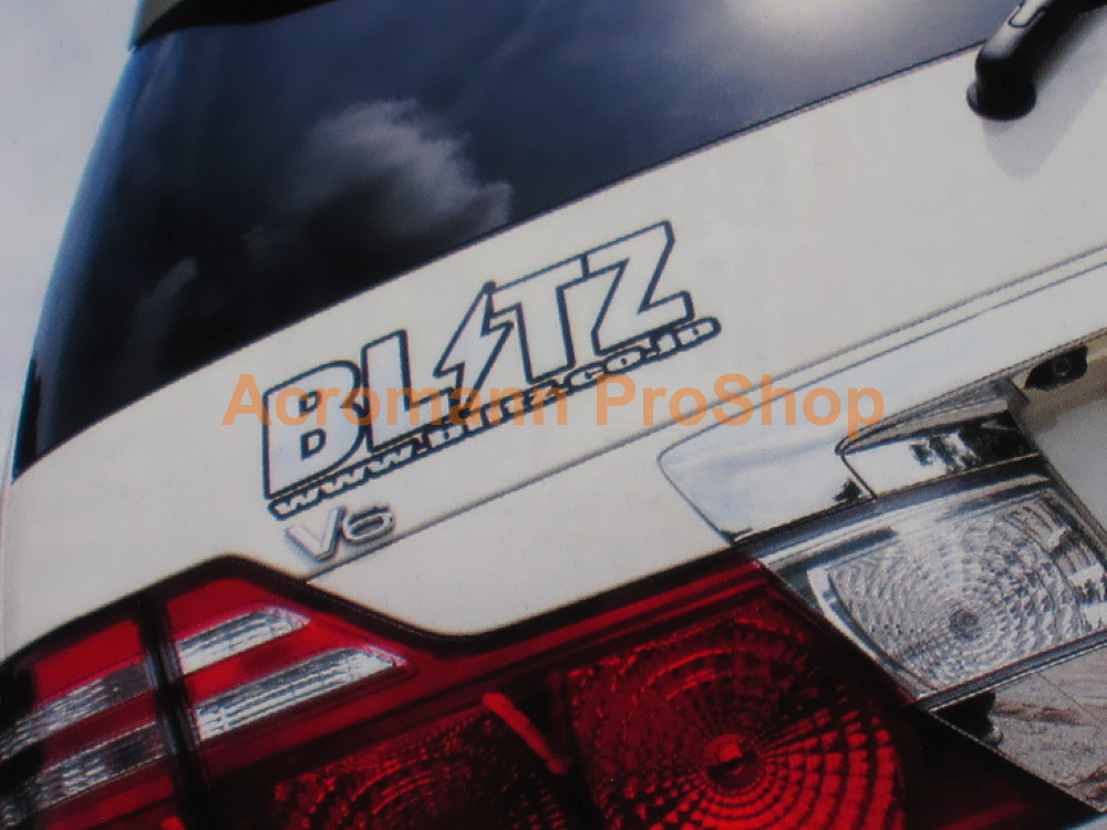 BLITZ 6inch Decal (Style#11) x 2 pcs