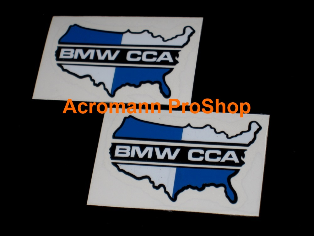 BMW CCA 6inch Decal (Style#1) x 2 pcs
