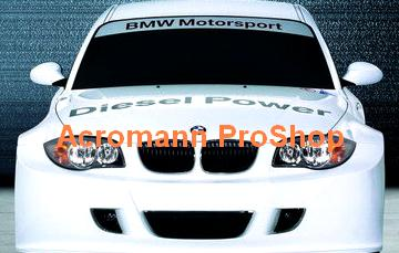 BMW Diesel Power Windshield Decal (Style#1)