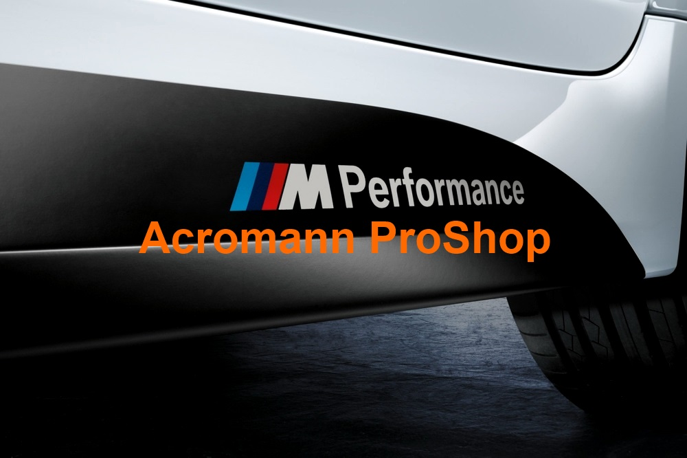 M Performance 6inch Decal (Style#1) x 2 pcs