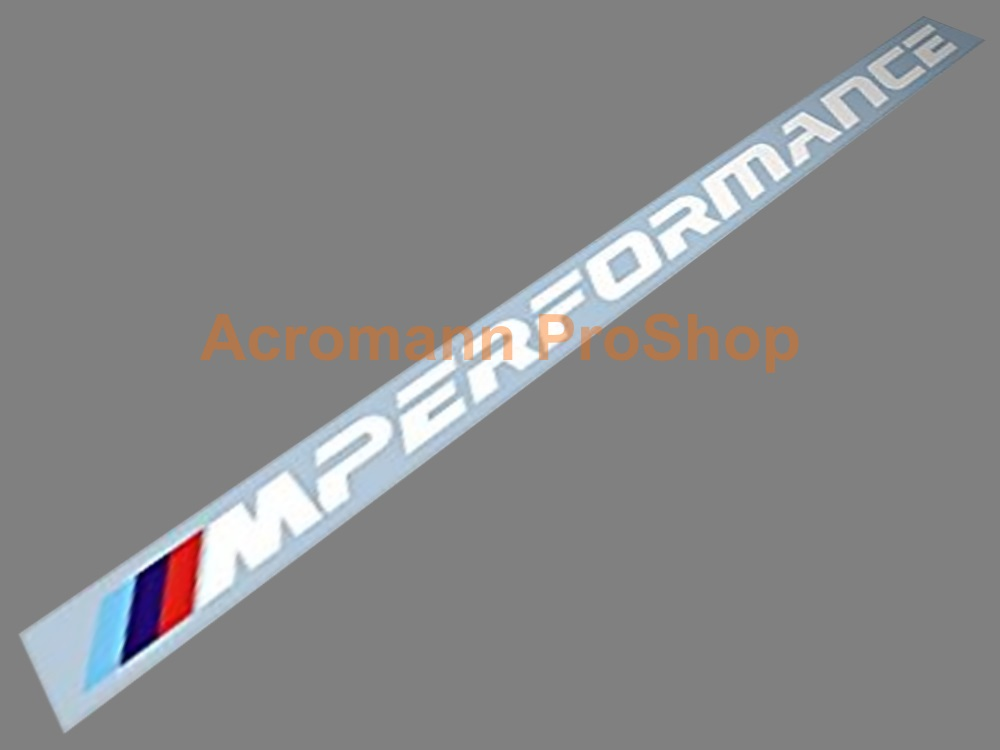M Performance Windshield Decal (Style#4)
