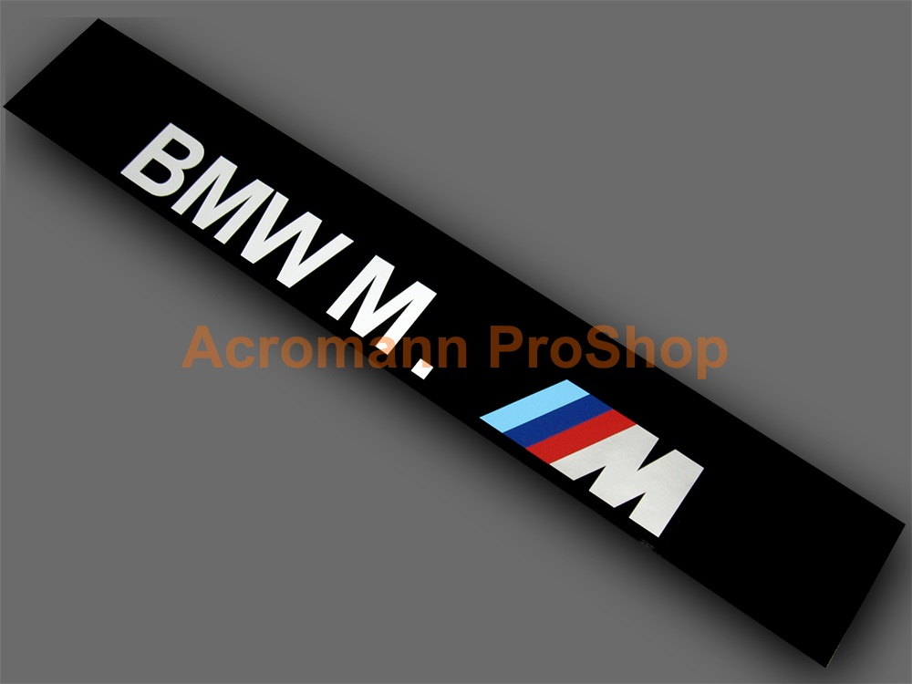 BMW M. M logo Windshield Decal (Style#3)