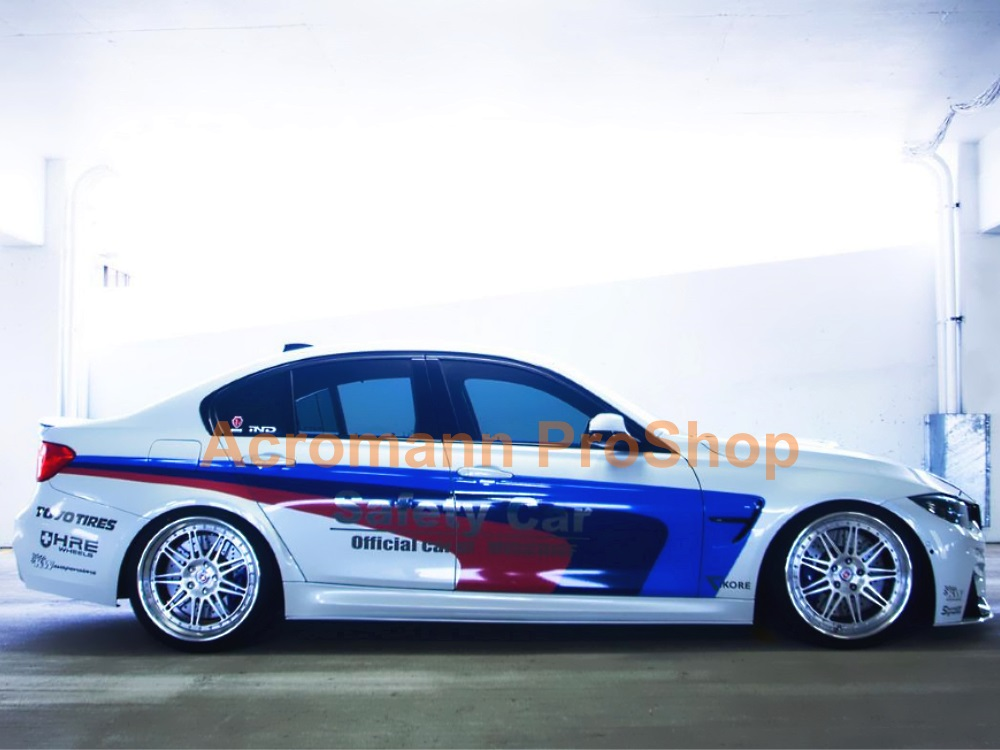 BMW F80 M Performance Side Stripe Decal (Style#7) x 1 pair
