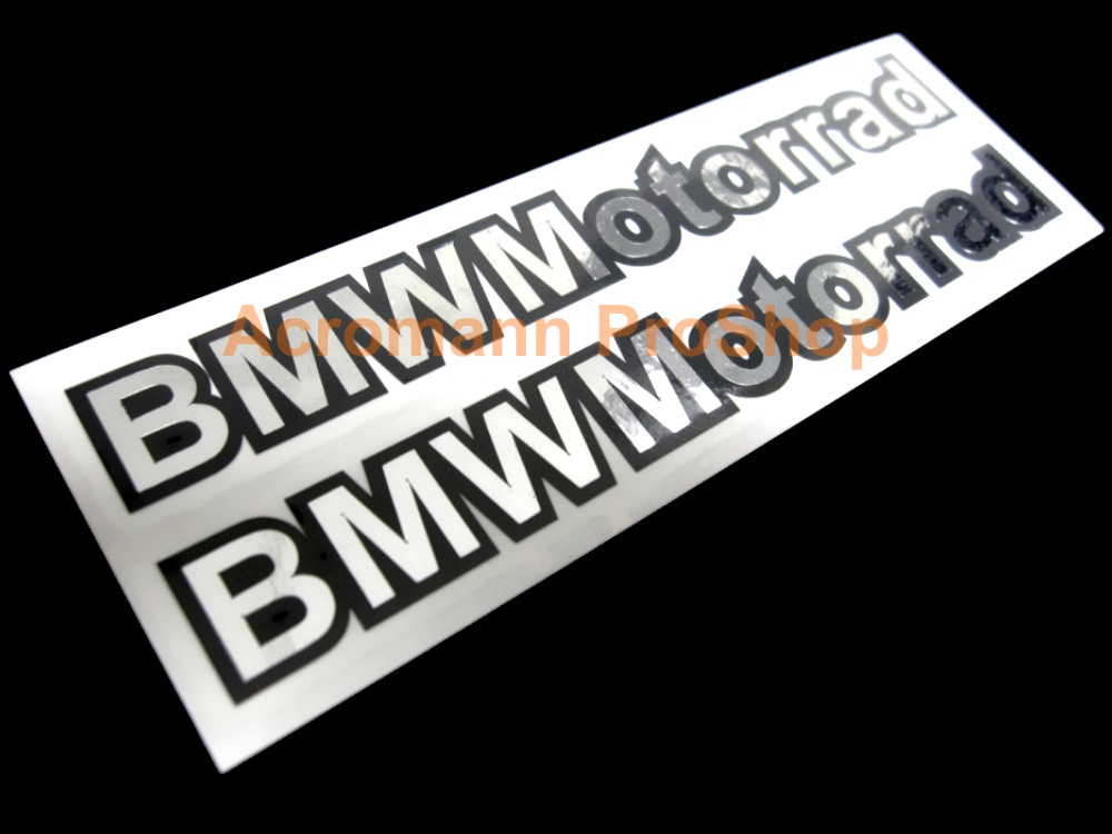 Acromann Online Shop - Bmw motorcycle stickers decals