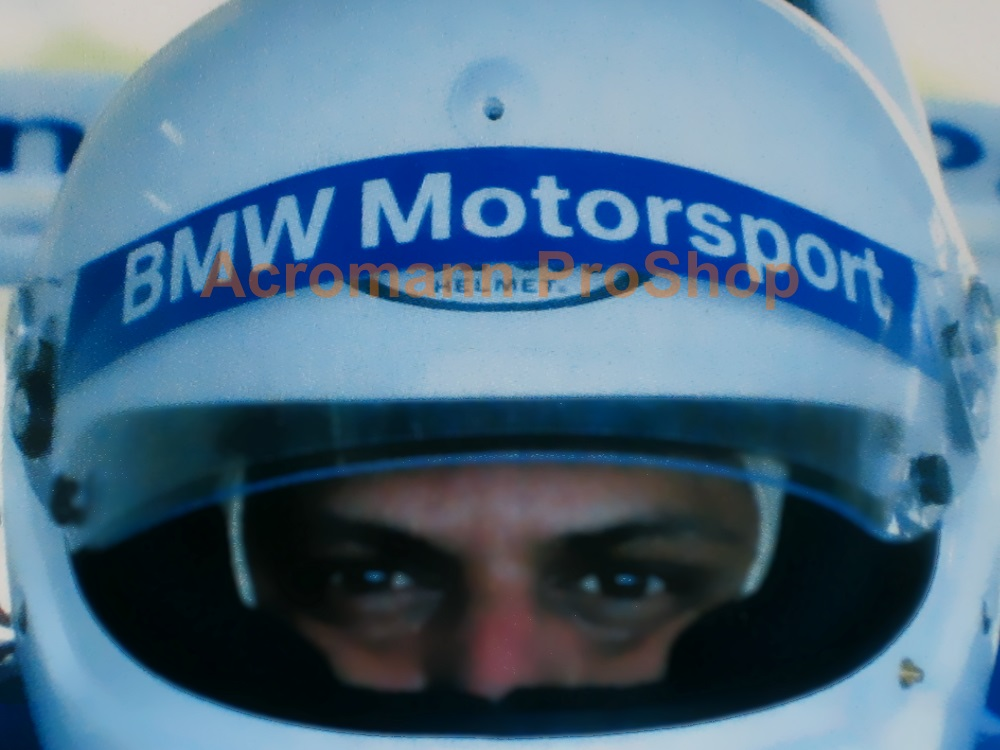 BMW Motorsport Helmet Visor decal (Style#1) x 2 pcs