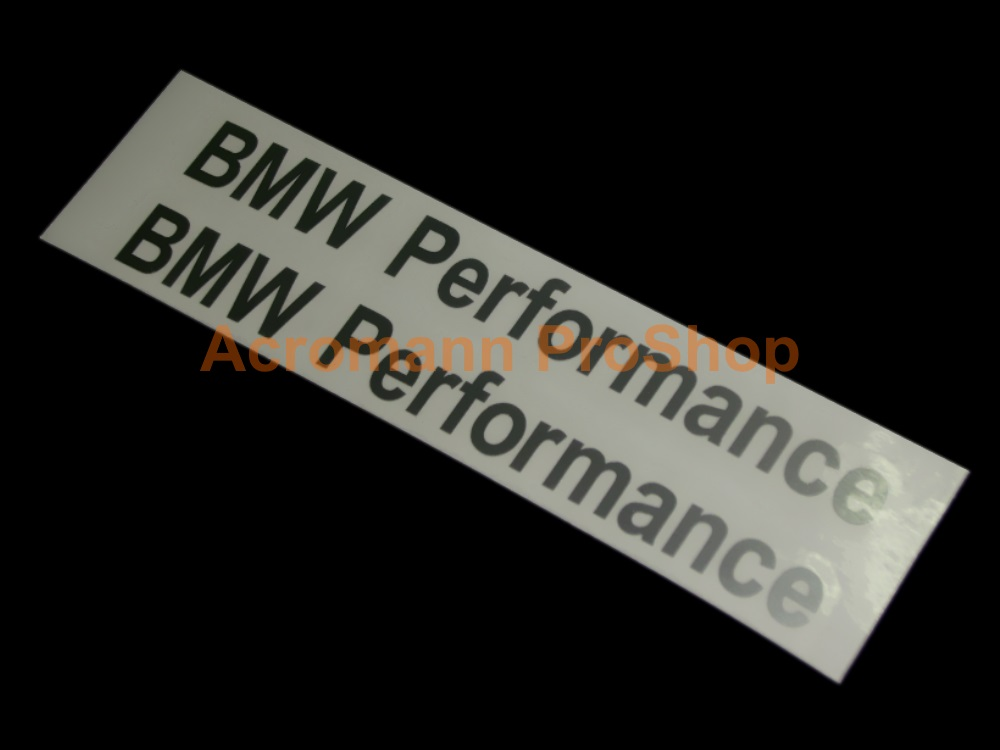 BMW Performance 5inch Brake Caliper Decal x 2 pcs