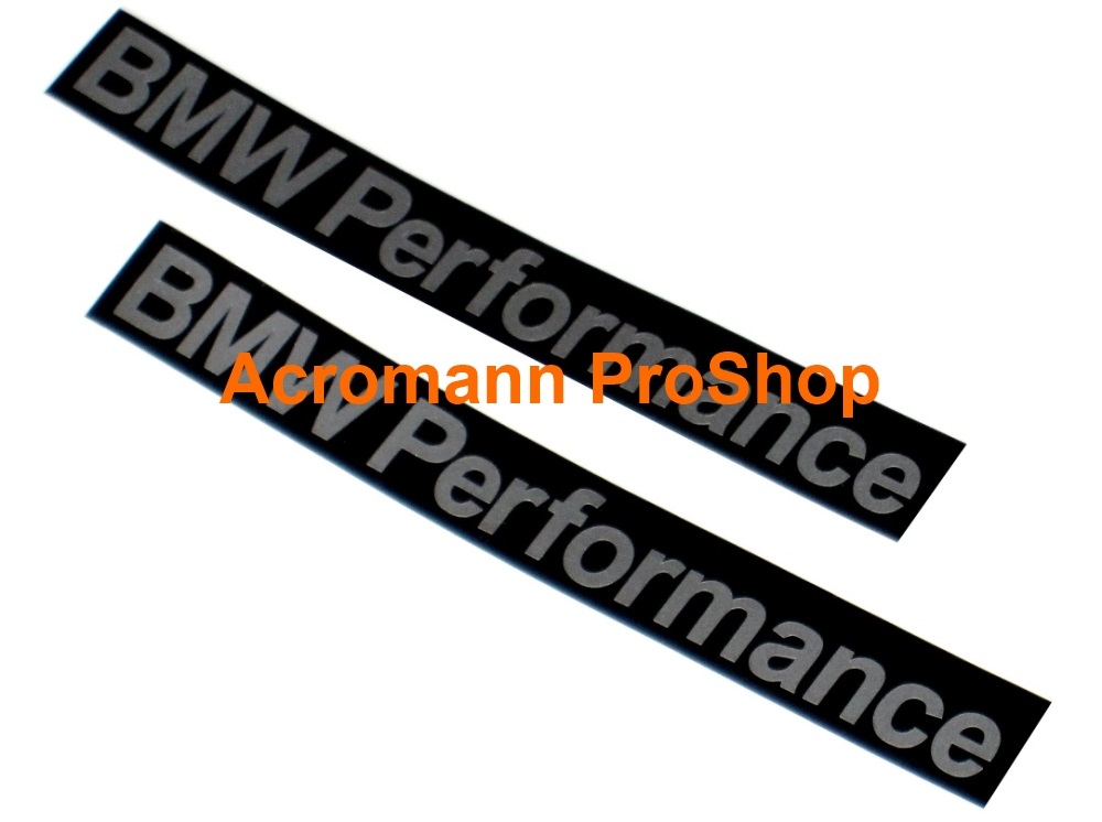 BMW Performance 6inch Decal (Style#2) x 2 pcs