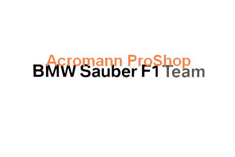 BMW Sauber F1 Team 6inch Decal x 2 pcs
