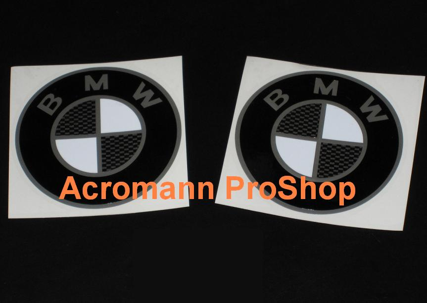 BMW Bonnet & Trunk Emblem Cap Decal (Combo B) x 2 pcs