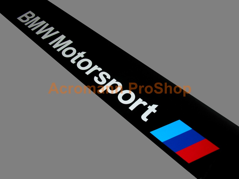 BMW Motorsport Windshield Decal (Style#5)