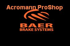 BAER Brake Systems 6inch Decal (Style#2) x 2 pcs