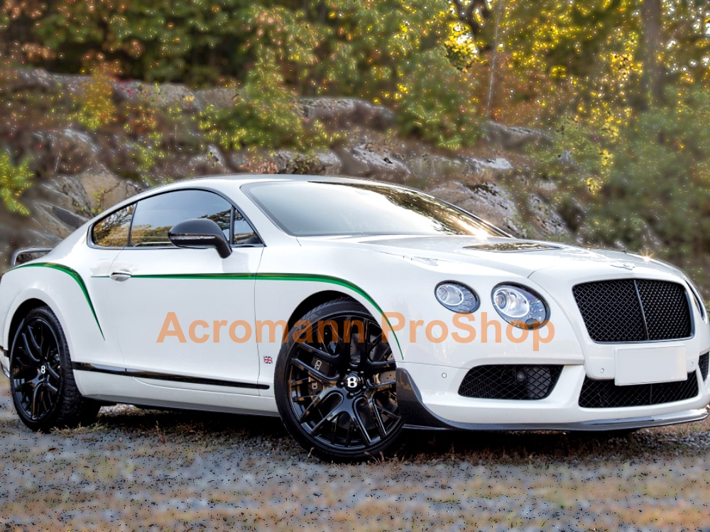 Bentley Continental GT3R Side Stripe Decal (Style#1) x 1 pair