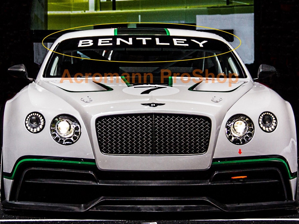 Bentley Windshield Decal (Style#1)