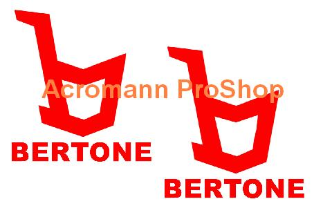 Bertone 4inch Decal x 2 pcs