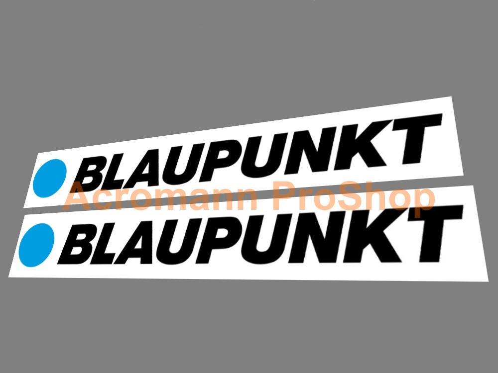Blaupunkt 6inch Decal (Style#1) x 2 pcs
