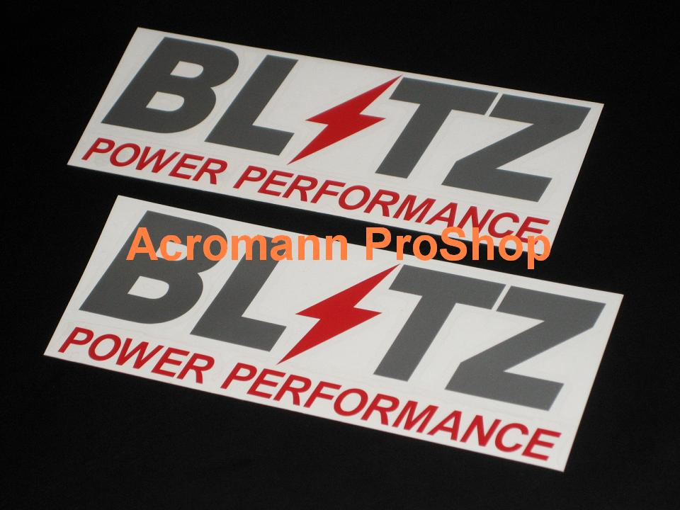 BLITZ 6inch Decal (Style#3) x 2 pcs