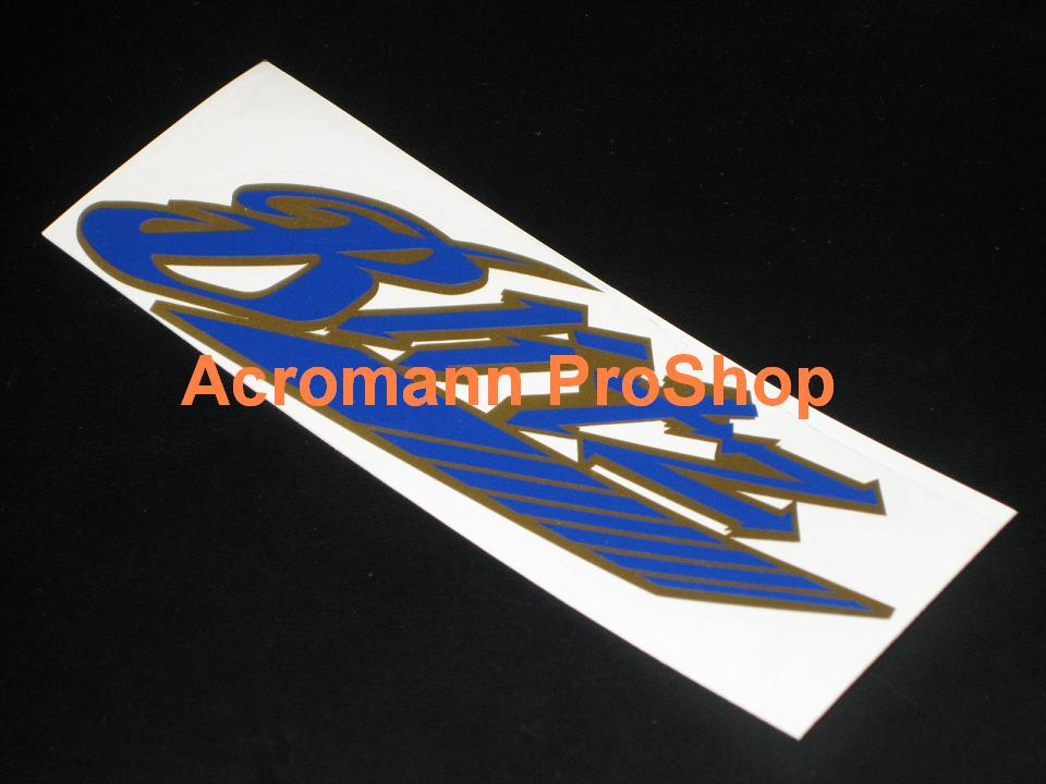 BLITZ 6inch Decal (Style#9) x 2 pcs