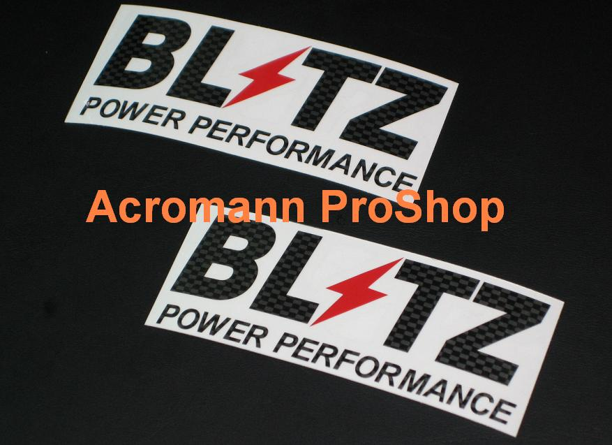 BLITZ 6inch Decal (Style#10) x 2 pcs