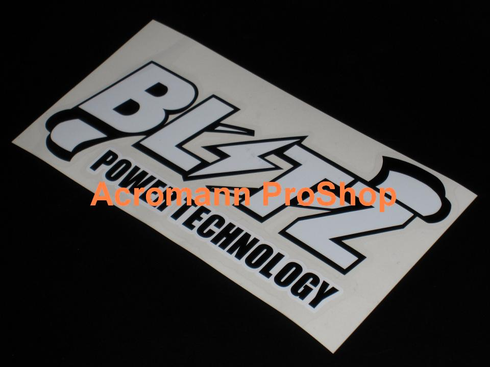 BLITZ 6inch Decal (Style#12) x 2 pcs