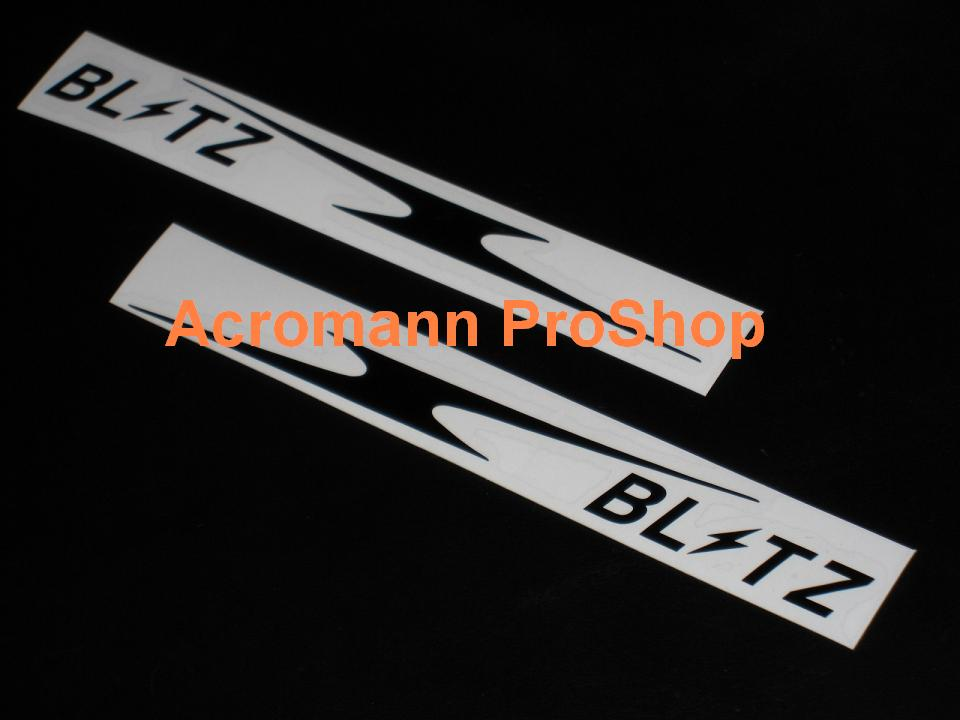 BLITZ 6inch Decal (Style#13) x 2 pcs