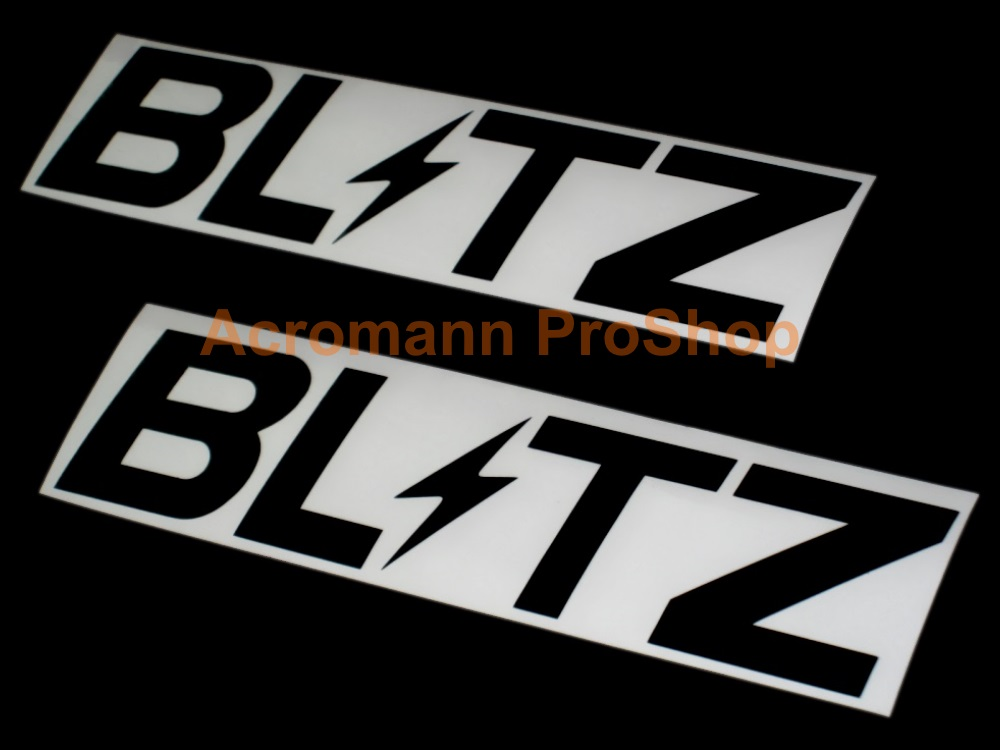 BLITZ 6inch Decal (Style#7) x 2 pcs