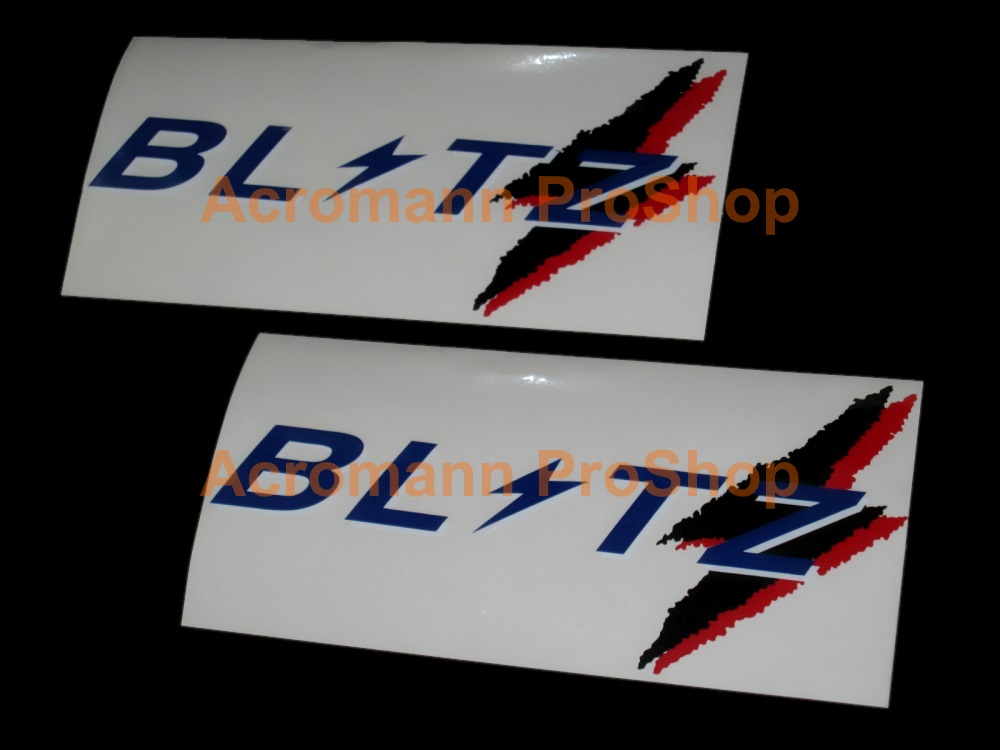 BLITZ 6inch Decal (Style#14) x 2 pcs