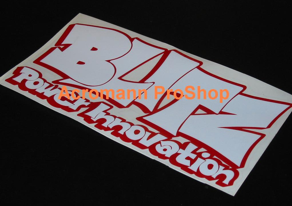 BLITZ 6inch Decal (Style#4) x 2 pcs