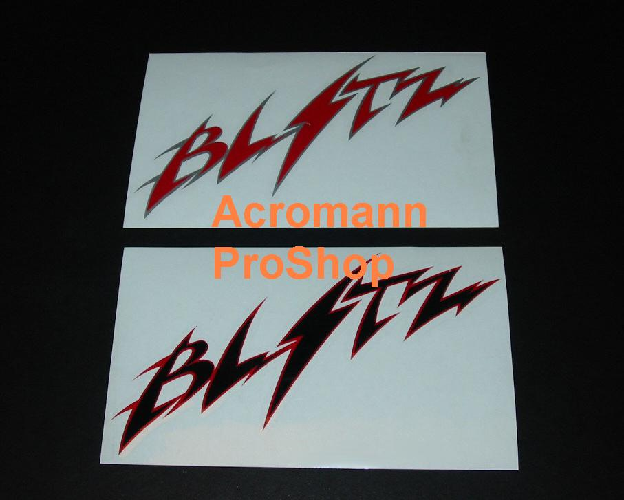 BLITZ 6inch Decal (Style#1) x 2 pcs