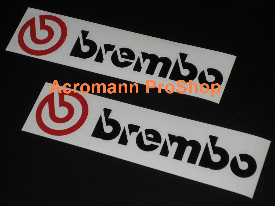 Brem bo 6inch Decal (Style#3) x 2 pcs