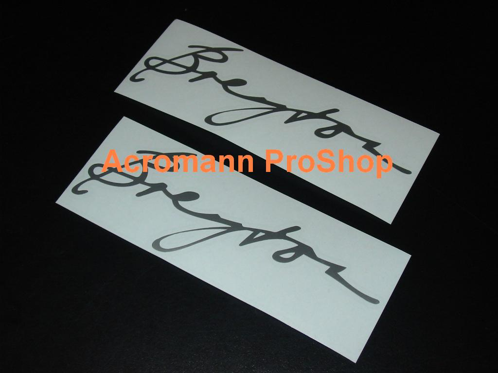 Breyton 6inch Decal x 2 pcs