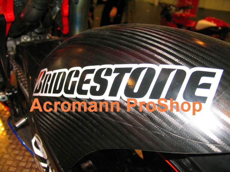 BRIDGESTONE 6inch Decal (Style#4) x 2 pcs
