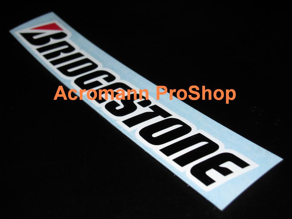 BRIDGESTONE Windshield Decal (Style#2)