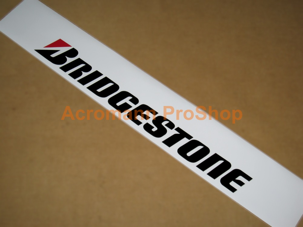 BRIDGESTONE Windshield Decal (Style#1)