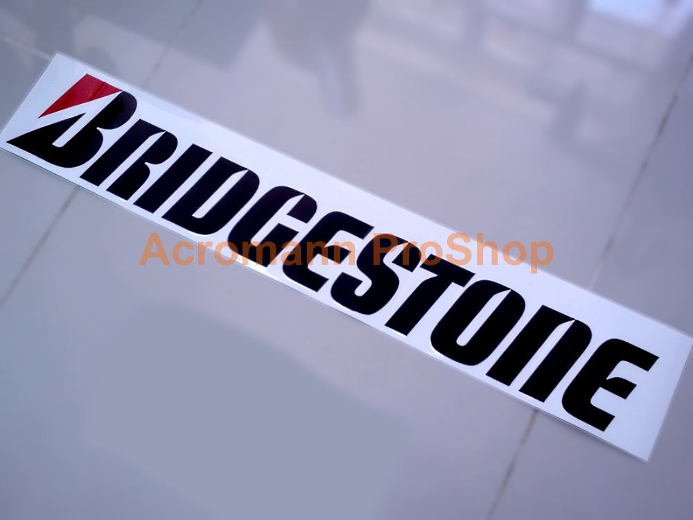 BRIDGESTONE Windshield Decal (Style#3)