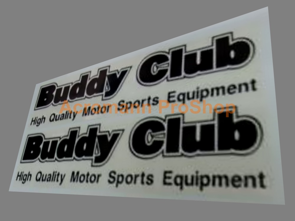 Buddy Club 6inch Decal (Style#5) x 2 pcs