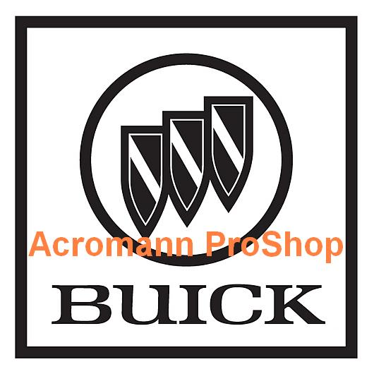 Buick 4inch Decal (Style#2) x 2 pcs