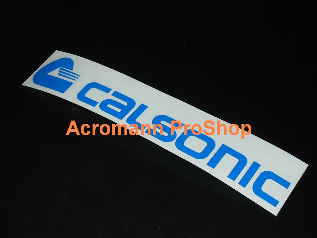 CALSONIC 6inch Decal x 2 pcs