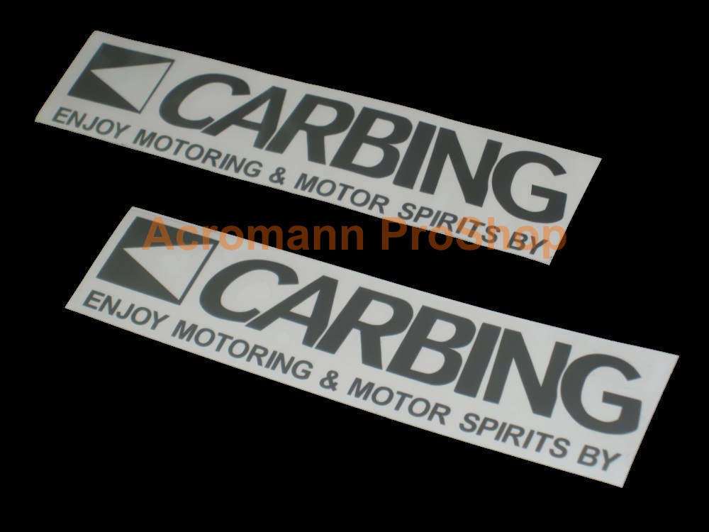 CARBING 6inch Decal (Style#3) x 2 pcs