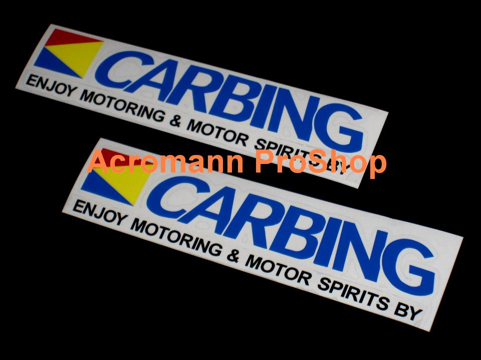 CARBING 6inch Decal (Style#5) x 2 pcs