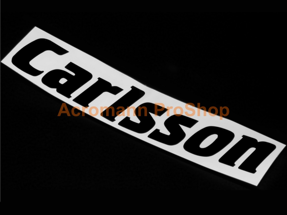 Carlsson 6inch Decal (Style#1) x 2 pcs