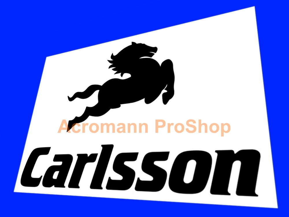 Carlsson 6inch Decal (Style#5) x 2 pcs