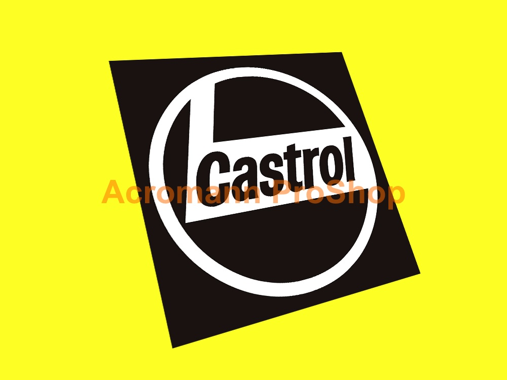 Castrol 3inch Decal (Style#6) x 2 pcs