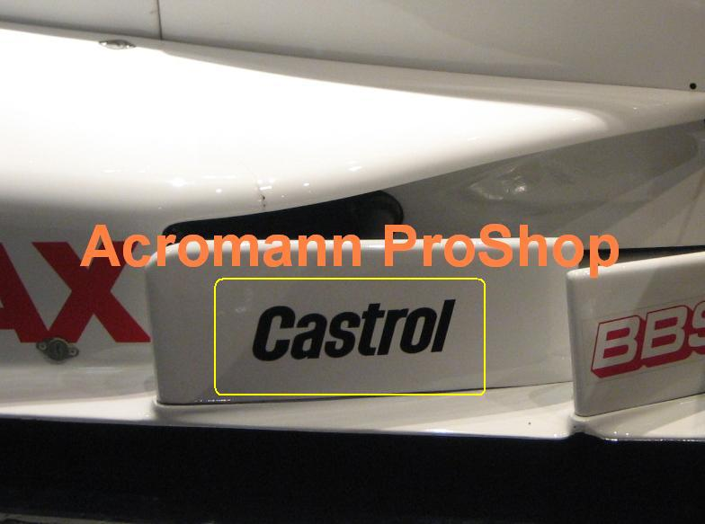 Castrol 6inch Decal (Style#1) x 2 pcs